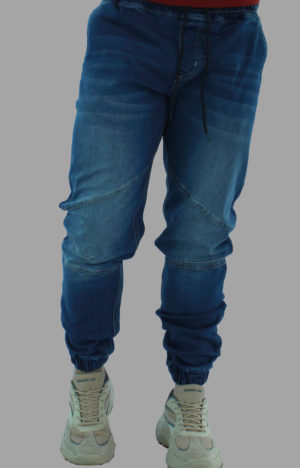Jogger azul jean - vista 1